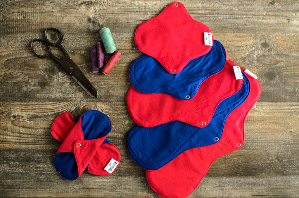 reusable cloth pads, menstrual cloth pads, rumps, reusable period products, period solutions